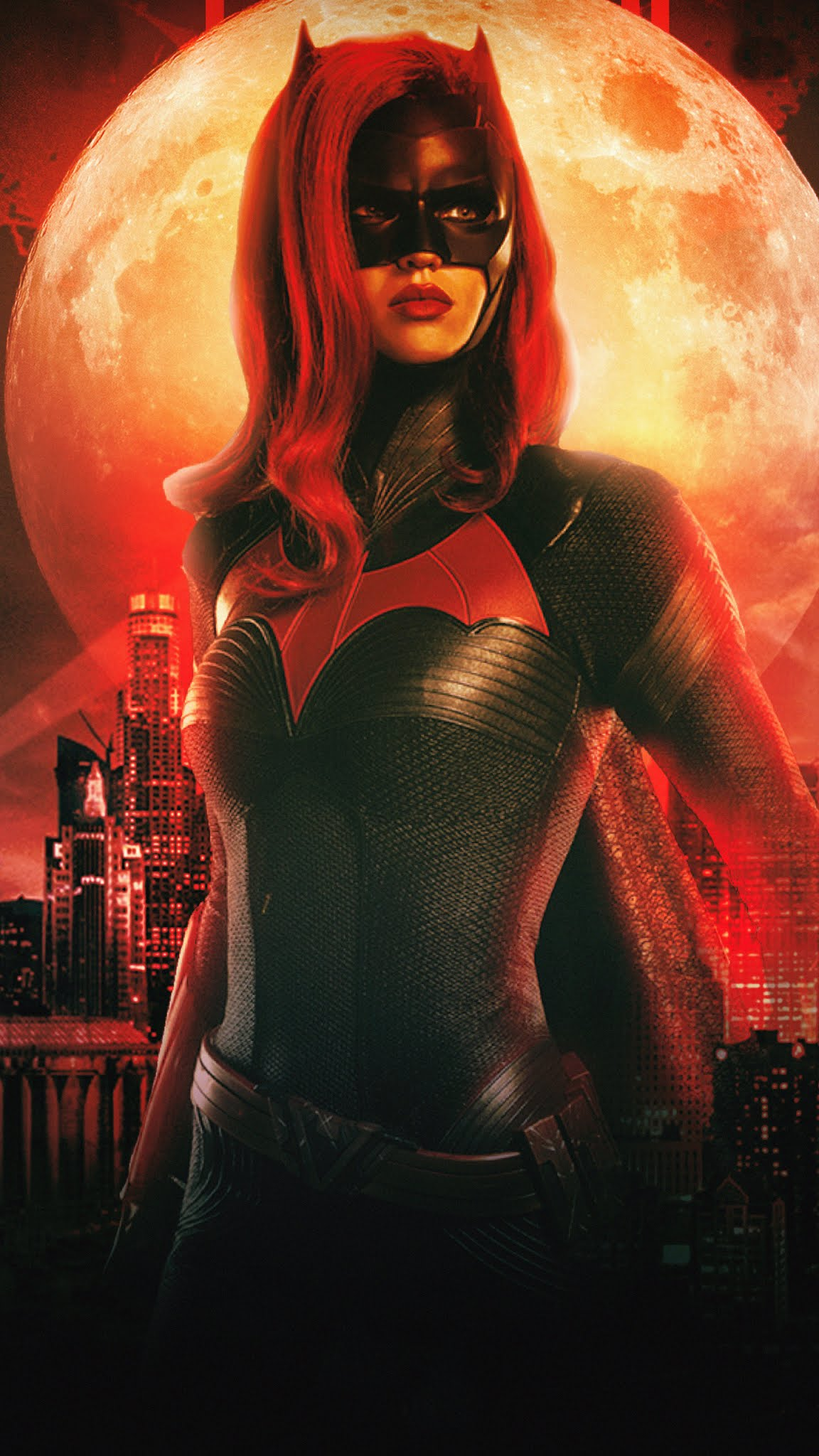 Ruby rose as Batwoman Mobile Wallpaper