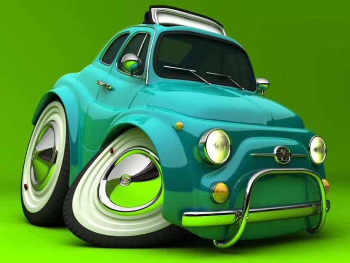 3 boyutlu araba resimleri