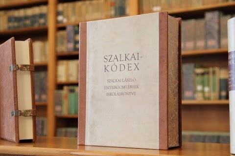 Sárospatakon is bemutatták a Szalkai-kódex reprint kiadását