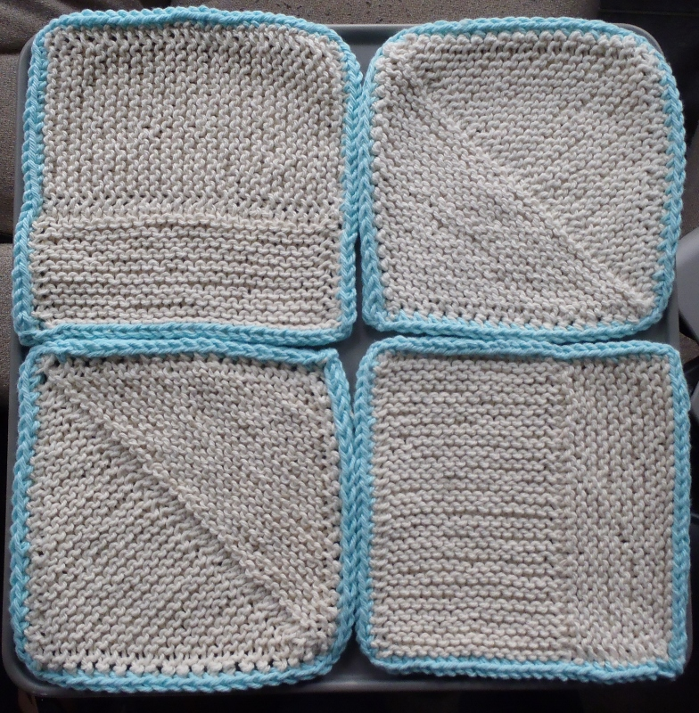 Knitting Patterns For 12 Inch Squares : Stanas Critters Etc.: Knitting Pattern for Blank Square Dishcloth