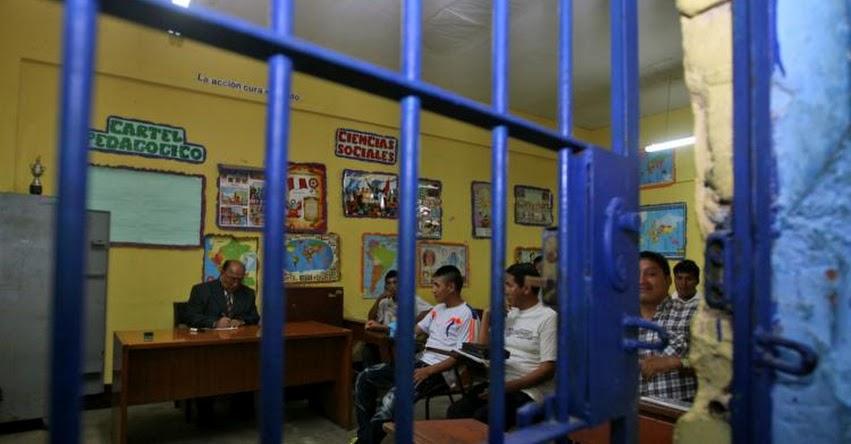 INPE: Más de 1,500 internos del penal Lurigancho inician hoy año escolar penitenciario 2017