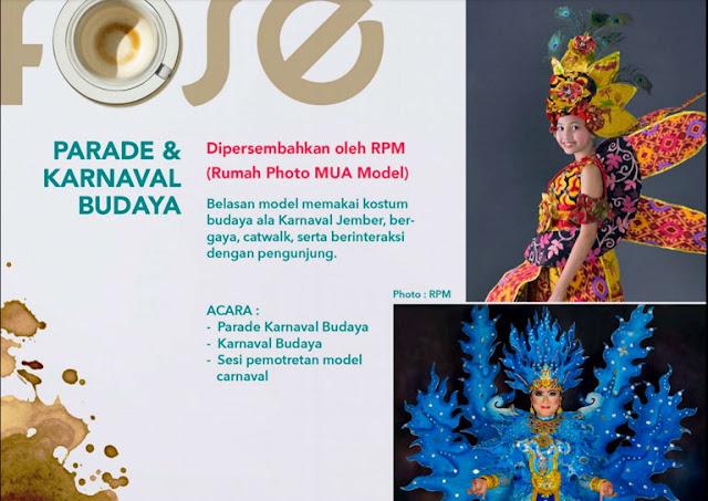 karnaval parade budaya kostum nusantara foto model MUA