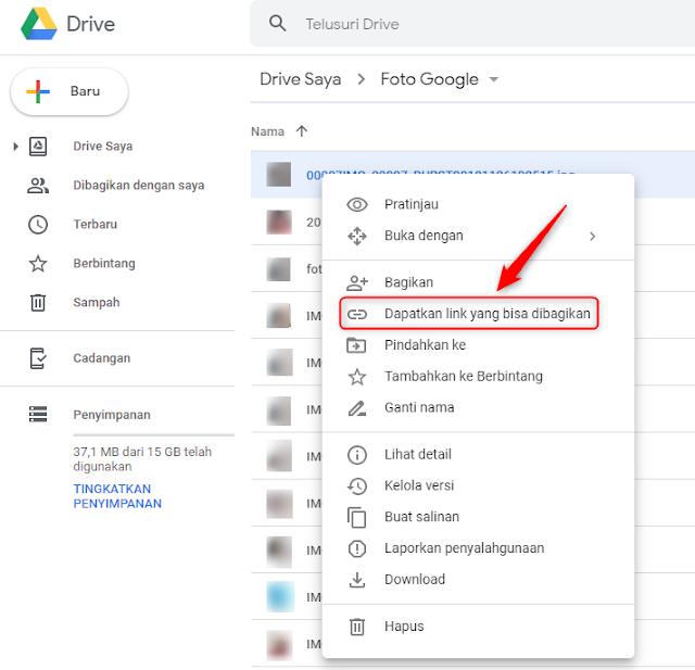 Cara Berbagi Link File Dari Google Drive Cara Berbagi Link File Dari Google Drive