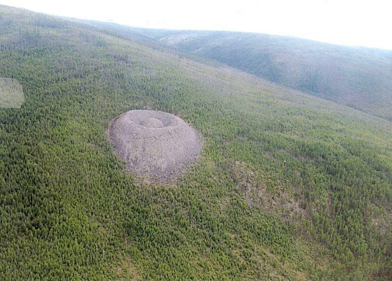El misterioso cráter Patomskiy | Rusia