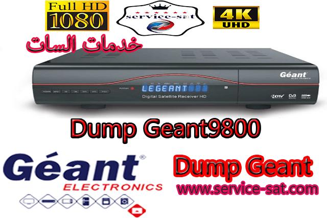 Dump Geant-9800s