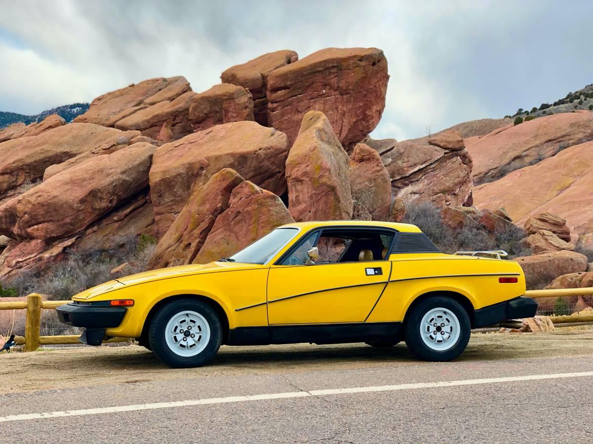 Daily Turismo: Angry Bird Chuck: 1979 Triumph TR7