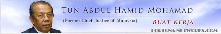 Tun Abdul Hamid Mohamad @ Former Chief Justice of Malaysia, 'BICARA TENTANG KESAN PENGESAHAN #ICERD'
