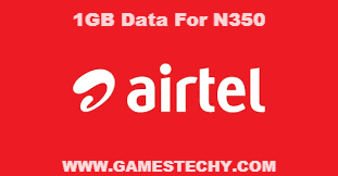 Airtel Download Bundle 1GB for N350