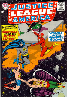 cover of Justice League of America #31 (1964). Property of DC comics.