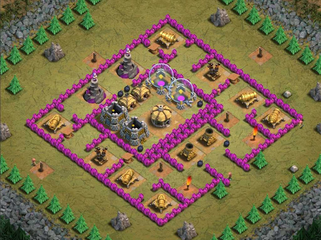 Goblin Base Clash of Clans Cold as Ice