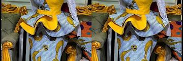 Peplum Ankara Skirt and Blouse