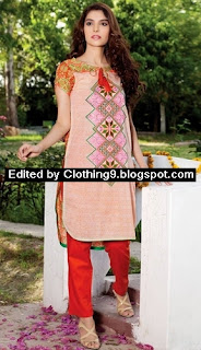 Warda Embroidered Eid Collection 2015