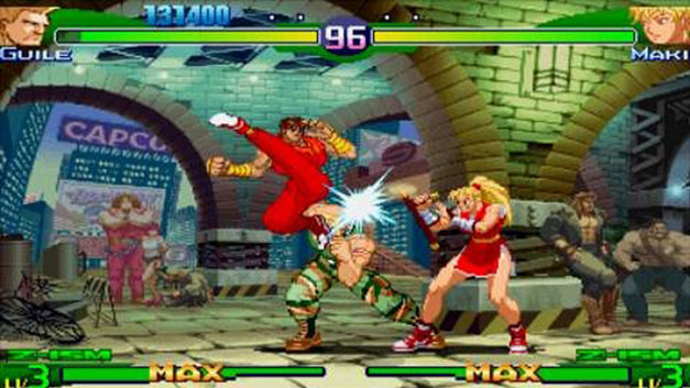 🔥 Street Fighter Alpha 3 MAX (USA) ISO for PSP - emuparadise me