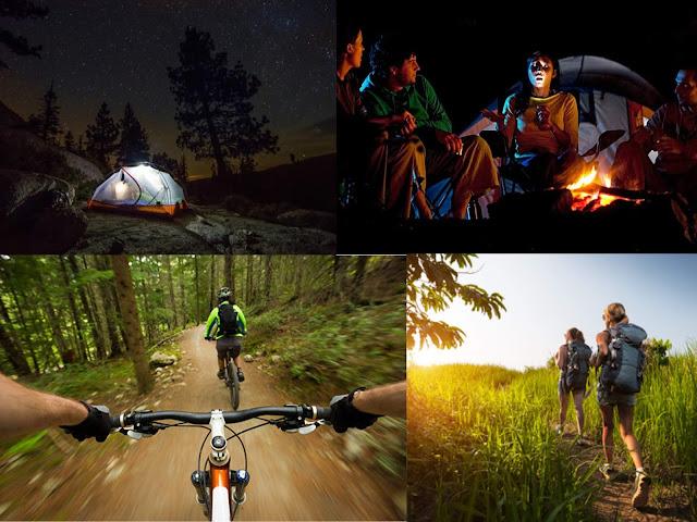 salir de camping