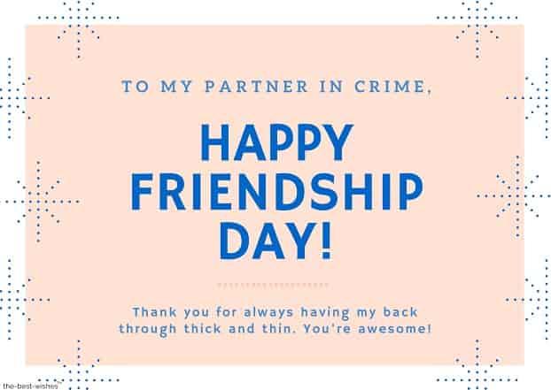 true friendship quotes partner in crime