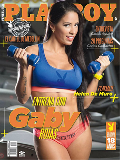 Revista Playboy Venezuela-Abril 2015 PDF Digital