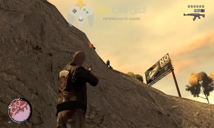 تحميل لعبة GTA IV للكمبيوتر من ميديا فاير برابط واحد مباشر