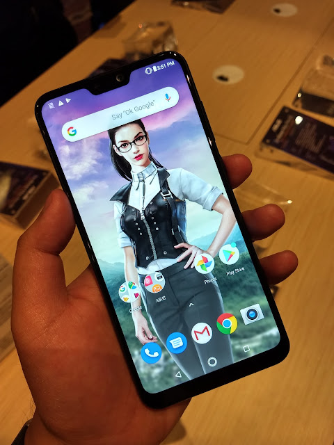 hands on asus zenfone max pro m2