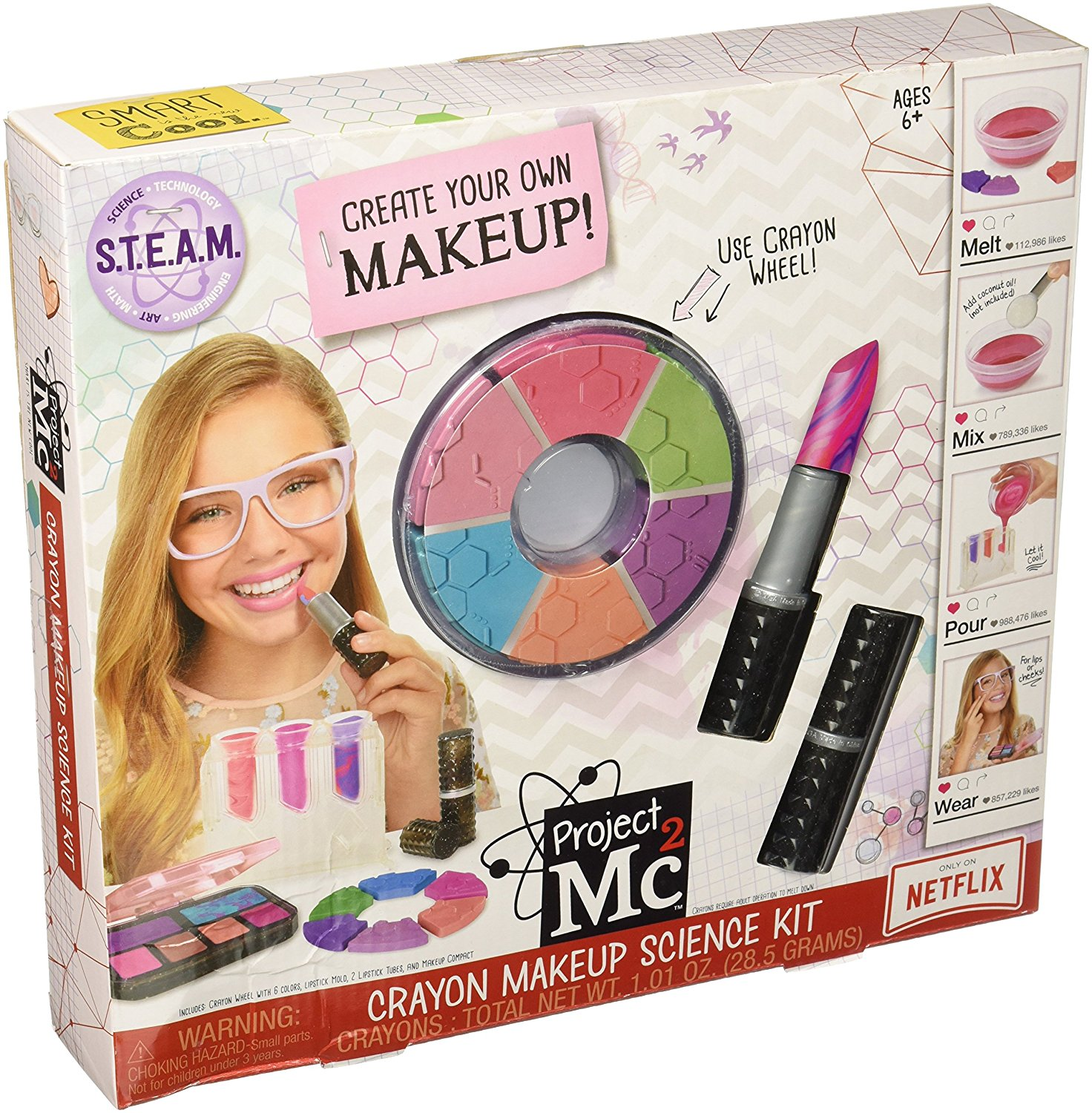 Missing Sleep Win The Project Mc2 Crayon Makeup Science Kit