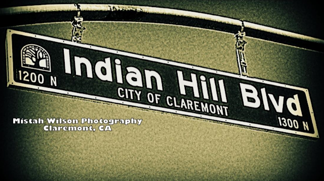 Indian Hill Boulevard, Claremont, California by Mistah Wilson