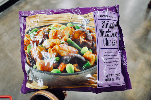 shiitake mushroom chicken from trader joe's