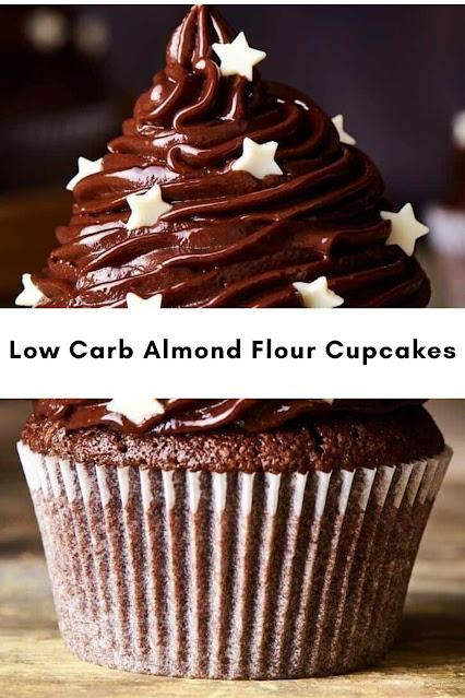 Low Carb Almond Flour Cupcakes