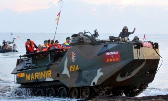 Panglima Resmikan Satuan TNI Terintegrasi Natuna