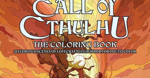 Reviews From Rlyeh Colouring Cthulhu