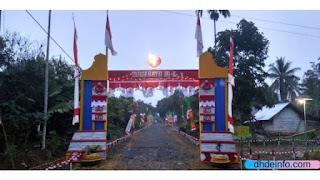 Kemeriahan HUT RI Ke-74 Desa Sido Mukti Kecamatan Padang Jaya
