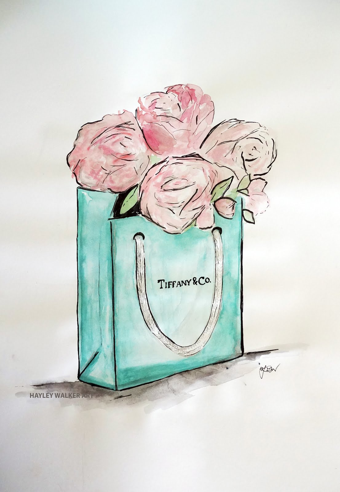 Tiffanys and Peonies