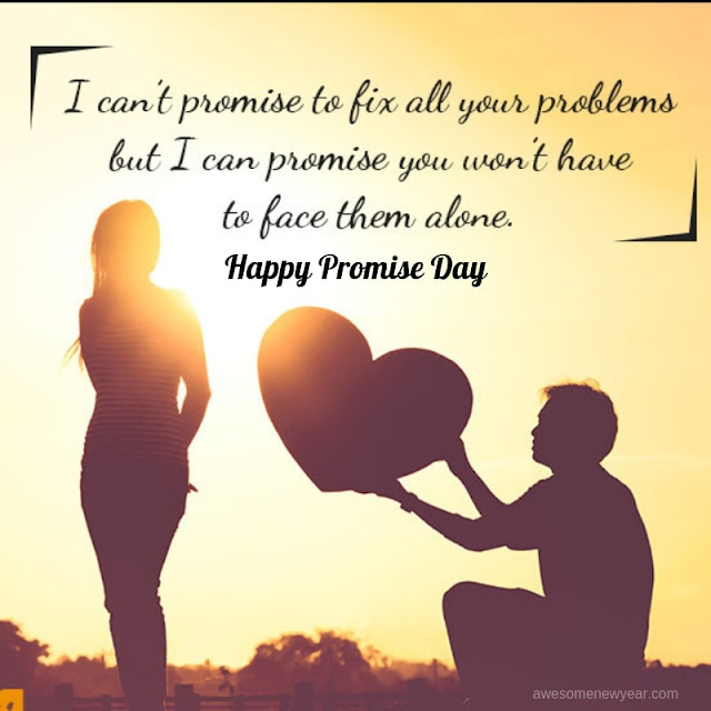 30 Feel Good #HappyPromiseDay Quotes For GirlFriend/BoyFriend/Partner