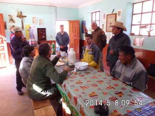 Bei der Pastoralversammlung