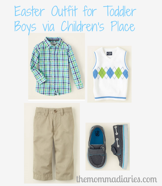 childrens place boys easter outfit