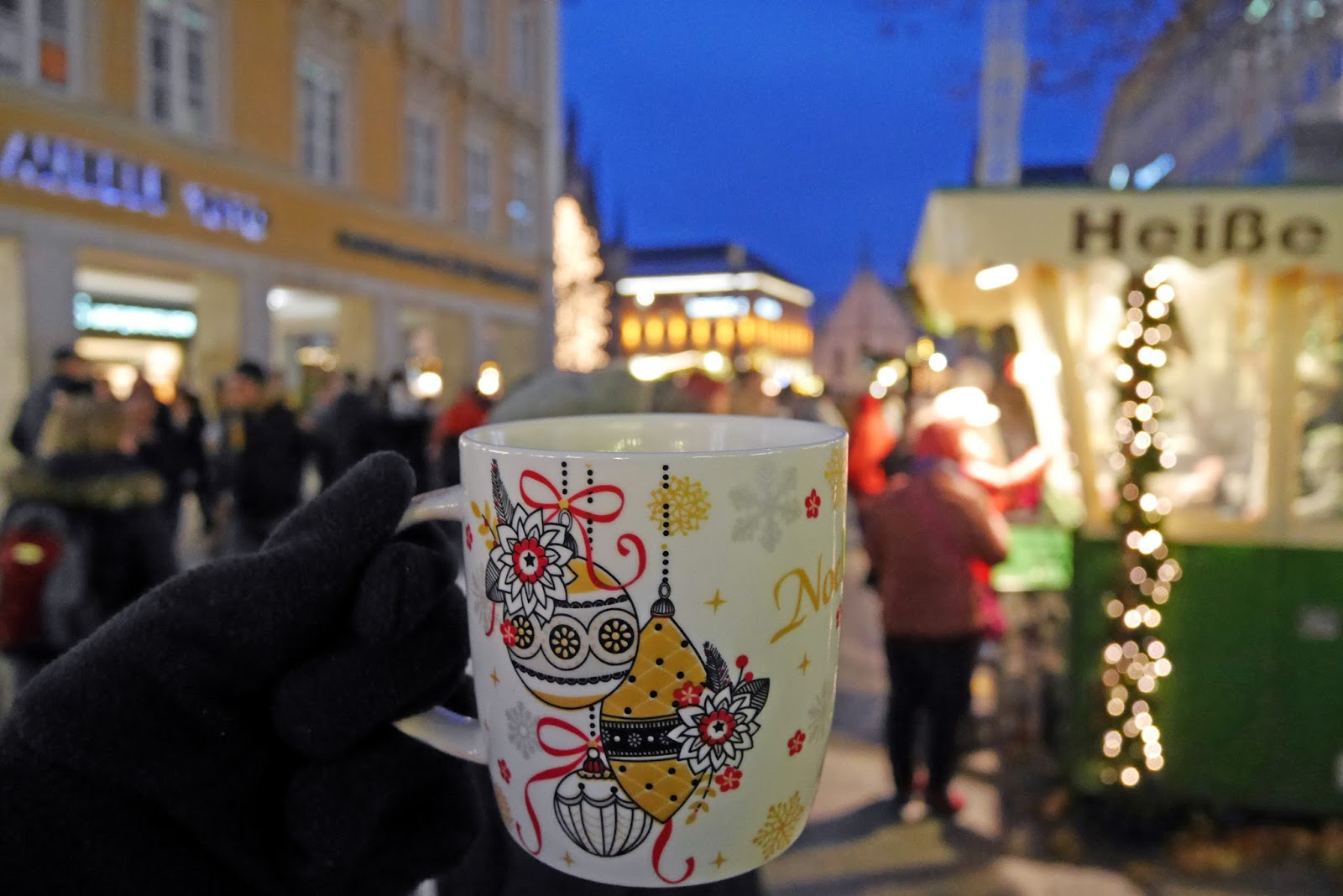Hot Chocolate at the Munich Christmas Markets