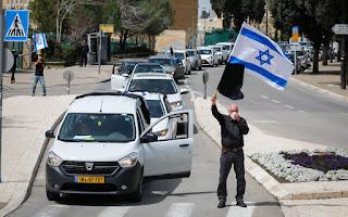 Segunda-feira de protestos no Knesset