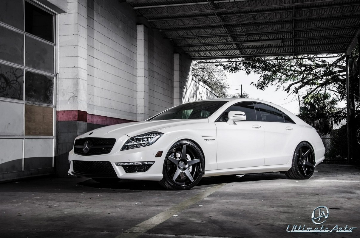 all cars nz 2012 mercedes benz cls 63 amg by ultimate auto. Black Bedroom Furniture Sets. Home Design Ideas