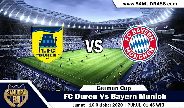 Prediksi Bola Terpercaya FC Duren Vs Bayern 16 September 2020