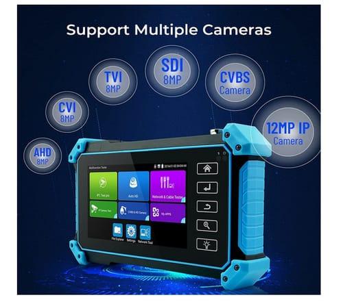 PEGATISAN 4K CCTV Tester Support 8MP