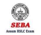 Assam HSLC Routine 2017 sebaonline.org