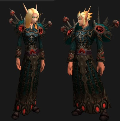 Wow sexy transmog gear sets for lock