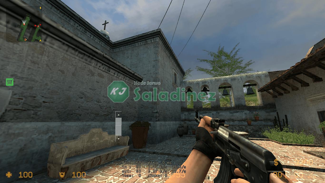FPS 60 di Counter Strike: Source