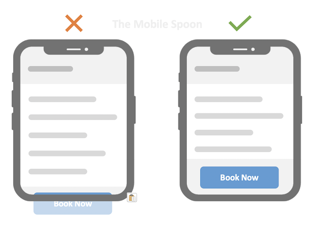 Place the button above the fold - The all-in-one guide to high-converting CTA buttons