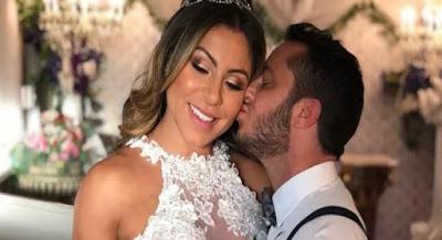 'Grávida até o final do ano', revela esposa de Thammy