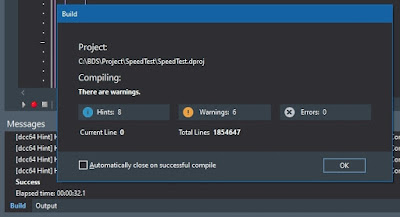 Delphi 10.3.3 Win64