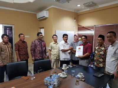 Sunario SE Jabat Ketua KPU PALI Gantikan Fikri Ardiansyah
