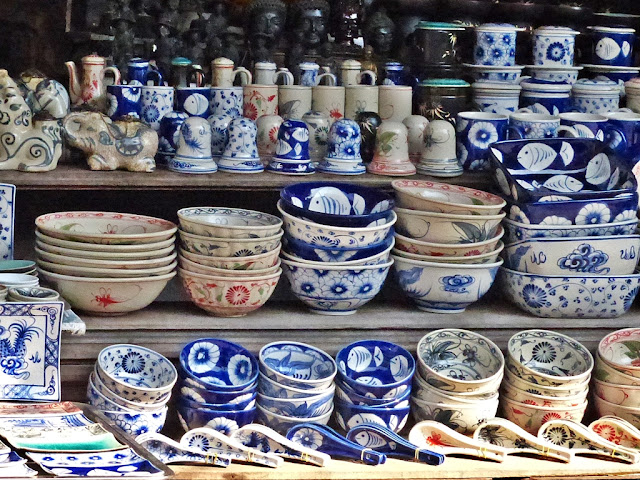 Vietnamese ceramics for sale in Hoi An