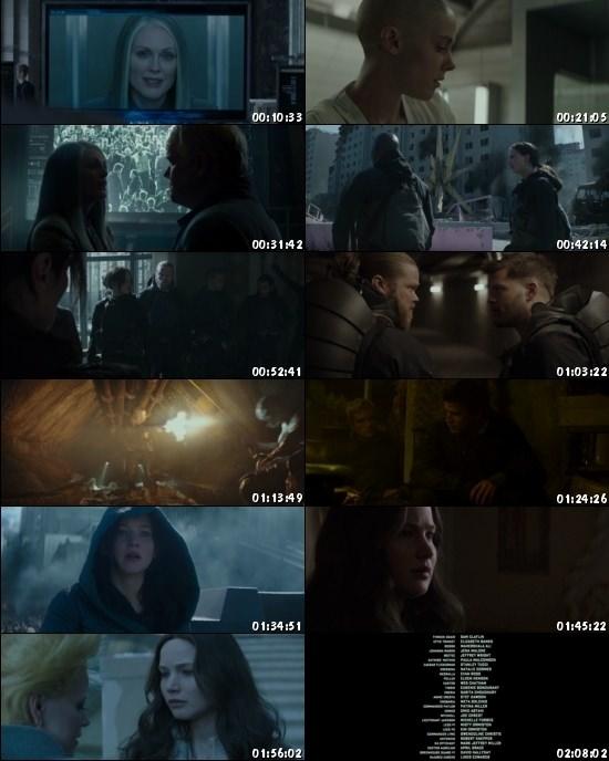 Download The Hunger Games Mockingjay Part 2 2015 Dual Audio ORG Hindi 400MB BluRay 480p ESubs movie