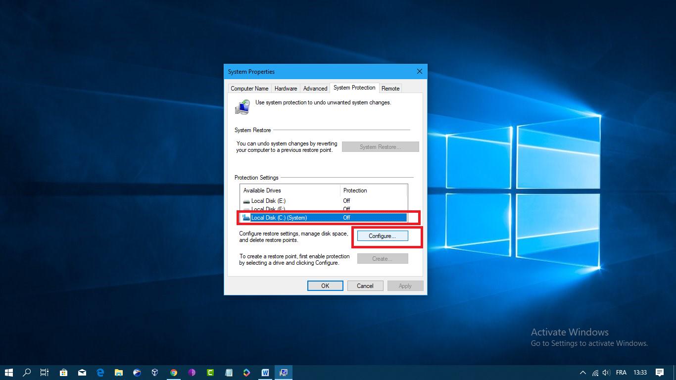 كيفية استعادة نظام التشغيل Windows 10 الى اعداداته السابقة