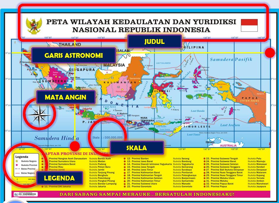 Lokasi di atas sebuah peta' pada sebuah slide dalam powerpoint. Download Media Pembelajaran Power Point Materi Mengenal Unsur Unsur Peta Kelas 4 5 Dan 6 Sd Dunia Pendidikan