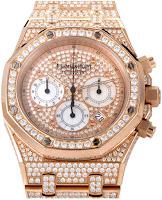 Audemars Piguet Men's Royal Oak Chronograph Diamond Watch